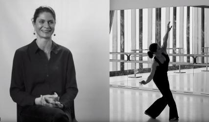 LE GESTE : LUCIE BLAIN Danseuse
