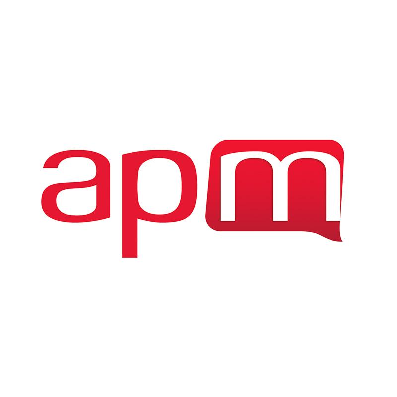 Logo de APM